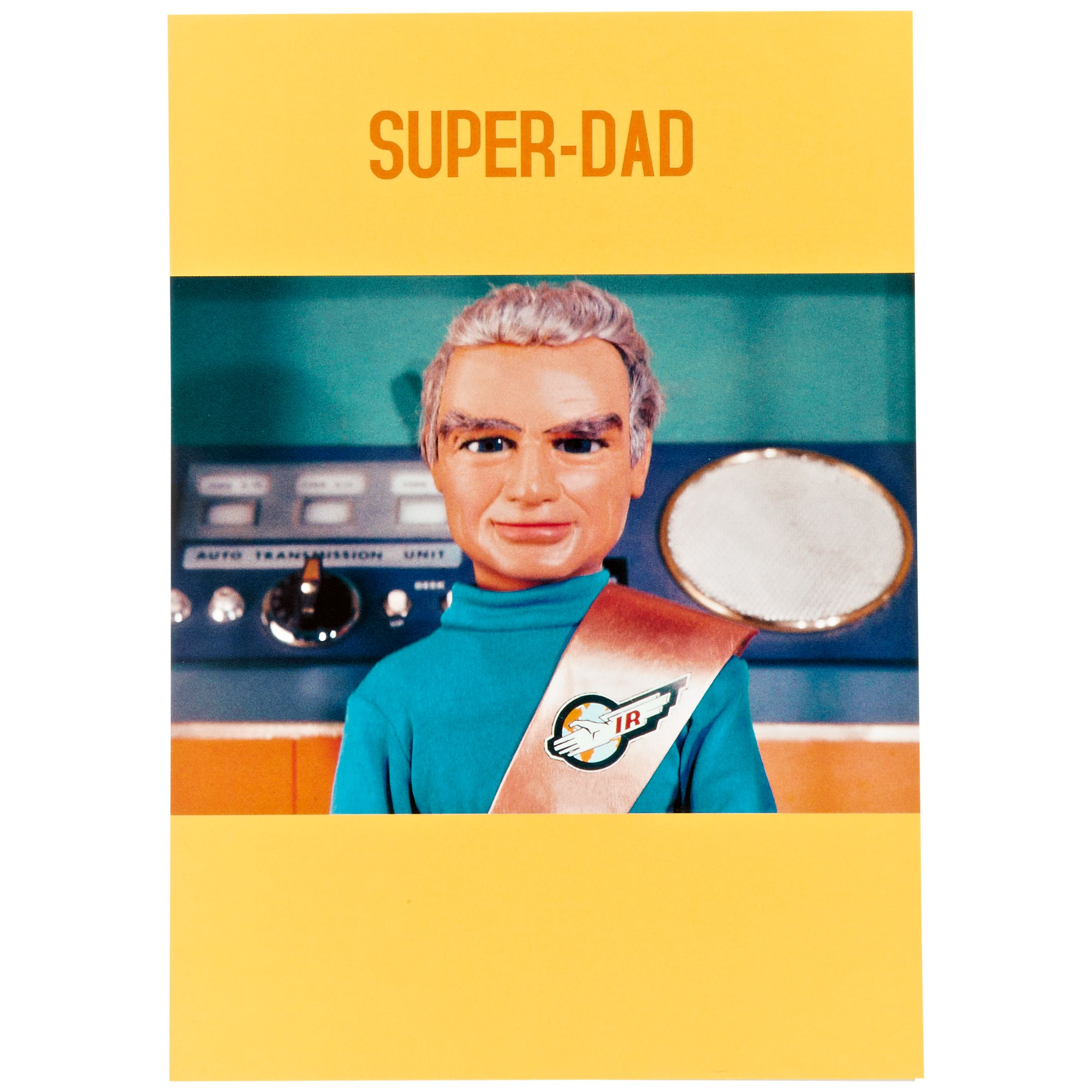 Hype Thunderbirds Super Dad Father's Day Card