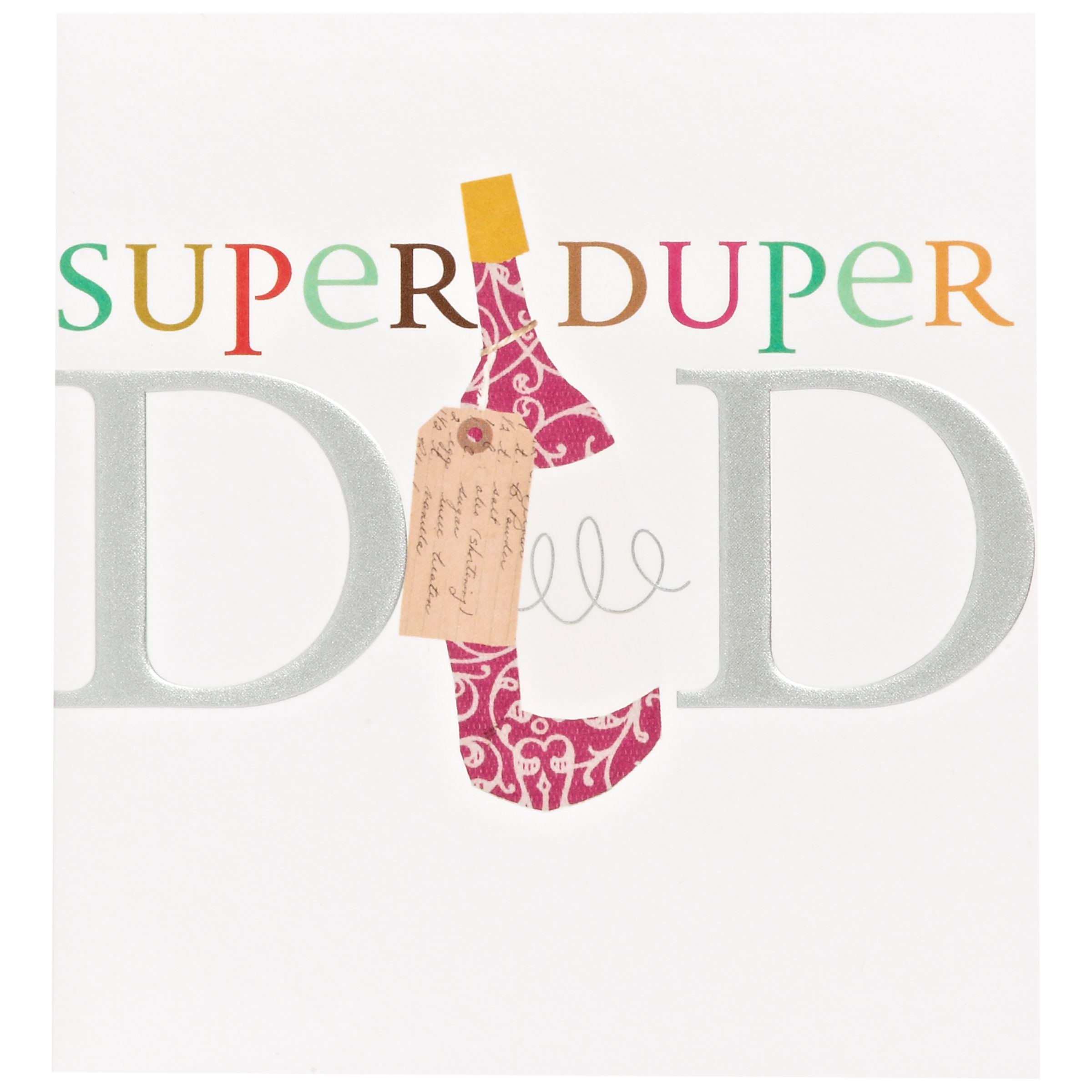 Caroline Gardner Super Duper Dad Father's Day Card