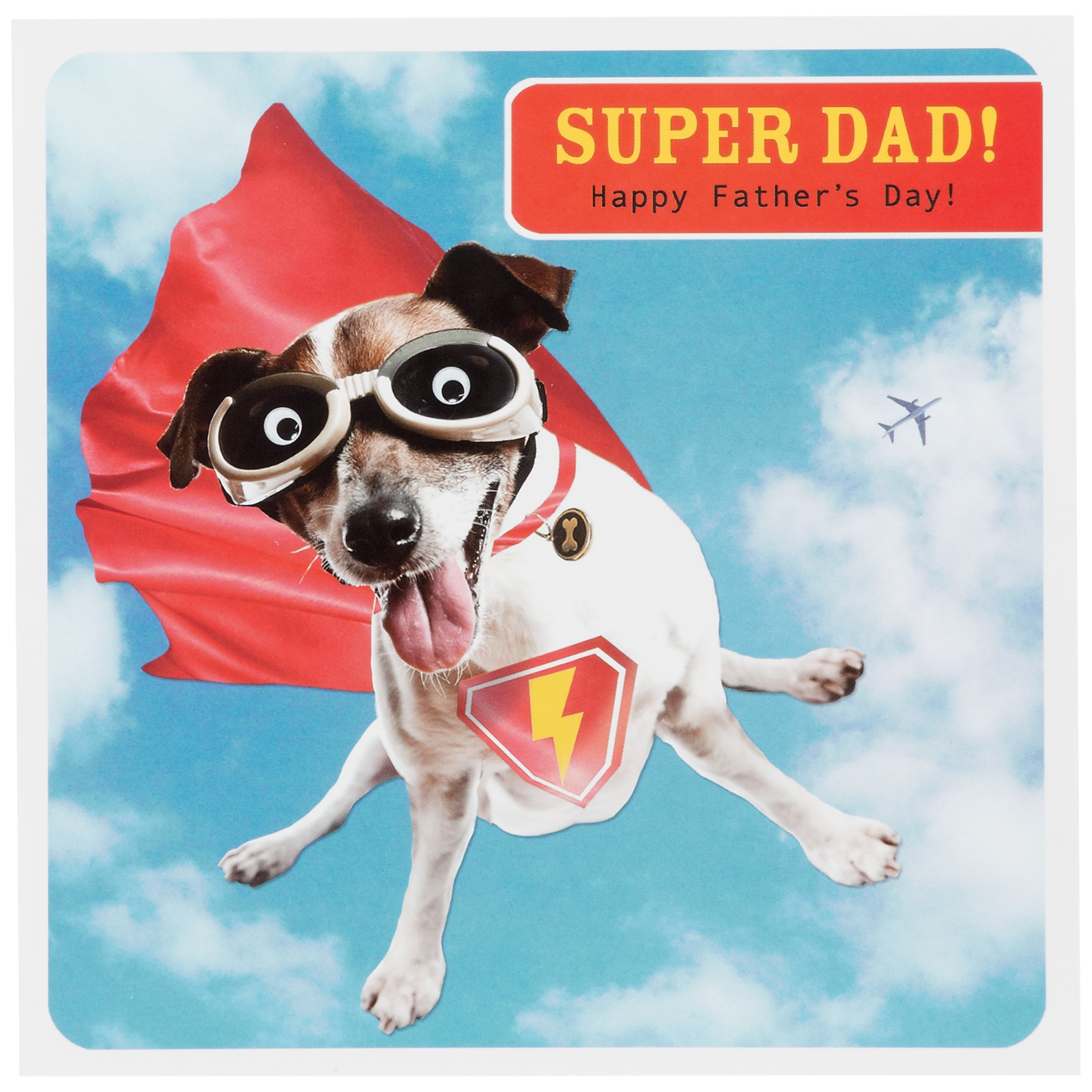 Paperlink Super Dad Father's Day Card
