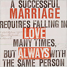 Buy Urban Graphic Successful Marriage Wedding Card Online at johnlewis.com