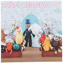 Buy Mint Knit & Purl Wedding Card Online at johnlewis.com