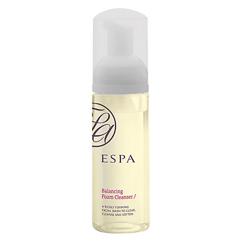 Buy ESPA Balancing Foam Cleanser, 150ml Online at johnlewis.com
