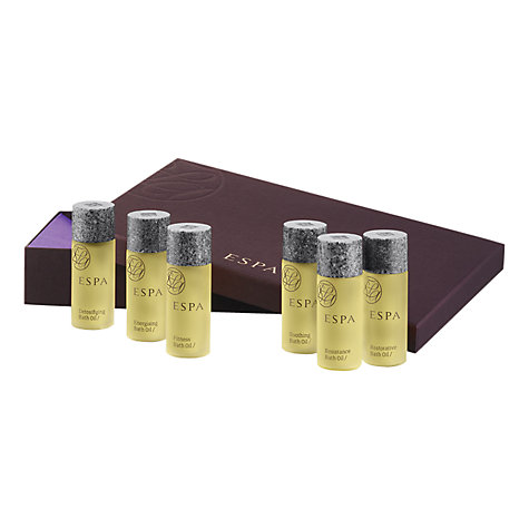 Buy ESPA Body Oil Collection Set, 6 x 15ml Online at johnlewis.com