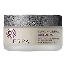 Buy ESPA Deeply Nourish Body Cream, 180ml Online at johnlewis.com