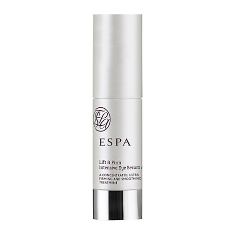Buy ESPA Lift and Firm Intensive Eye Serum, 15ml Online at johnlewis.com