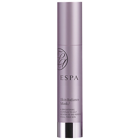 Buy ESPA Skin Radiance Mask, 25ml Online at johnlewis.com