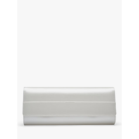 Buy Rainbow Club Greta Satin Clutch Bag, Ivory Online at johnlewis.com