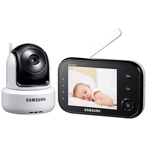Buy Samsung SEW-3037WN BabyView Baby Monitor Online at johnlewis.com