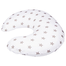 Buy Widgey Donut Nursing Pillow Cover, Silver Star Online at johnlewis.com