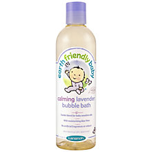 Buy Earth Friendly Baby Calming Lavender Bubble Bath, 300ml Online at johnlewis.com
