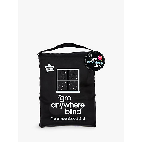 Buy Gro Anywhere Blackout Blind Star And Moon Print