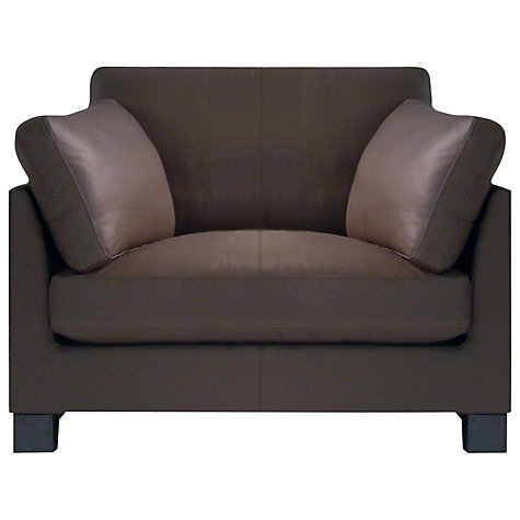 Buy John Lewis Ikon Armchair, Dakota Leather Online at johnlewis.com