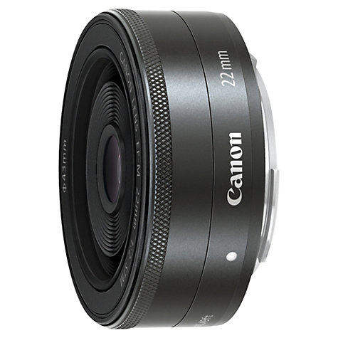 Buy Canon EF-M 22mm f/2 STM Pancake Lens Online at johnlewis.com