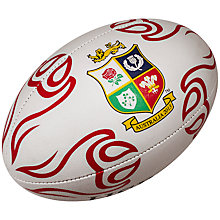 Buy Rhino Rugby for the British and Irish Lions 2013 Official Training Ball, White Online at johnlewis.com
