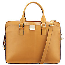 Buy Somerset by Alice Temperley Dahlia Large Satchel Handbag, Tan Online at johnlewis.com