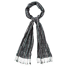 Buy Viyella Ruched Scarf, Pebble Online at johnlewis.com