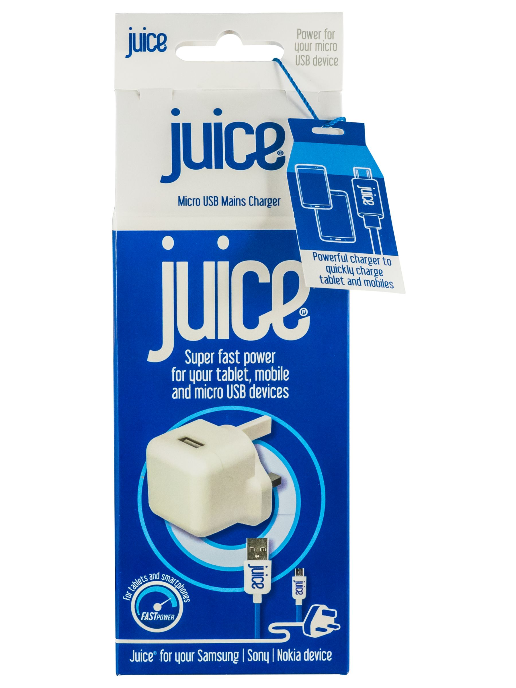 Juice Juice Blackberry Juice Home Charger for Micro USB Devices