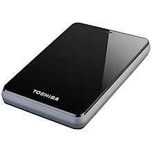Buy Toshiba Canvio 2.5 Portable Hard Drive, USB 3.0, 500GB Online at johnlewis.com