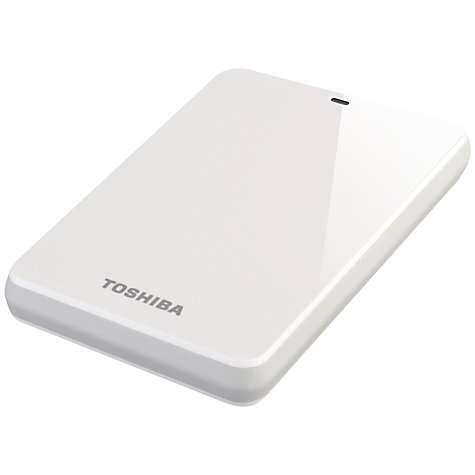 Buy Toshiba Canvio Connect Portable Hard Drive, USB 3.0, 500GB Online at johnlewis.com