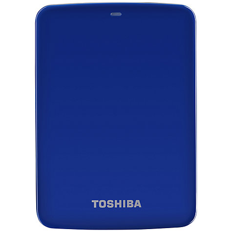 Buy Toshiba Canvio 2.5 Portable Hard Drive, USB 3.0, 1TB Online at johnlewis.com