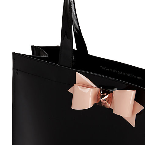 Buy Ted Baker Bigcon Bow Large Ikon Shopper Handbag Online at johnlewis.com
