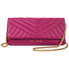 Buy Ted Baker Talton Quilted Leather Clutch Handbag Online at johnlewis.com