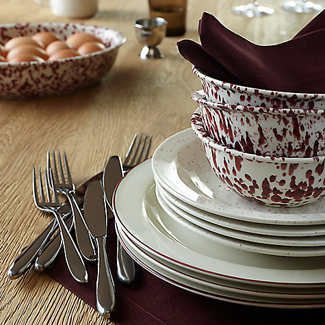Buy John Lewis Luna Cutlery Set, 24 Piece Online at johnlewis.com
