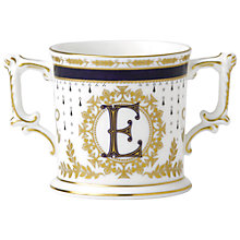 Buy Royal Crown Derby Coronation ER Loving Cup Online at johnlewis.com