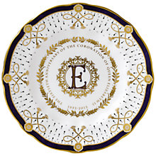 Buy Royal Crown Derby Coronation ER Surrey Plate Online at johnlewis.com