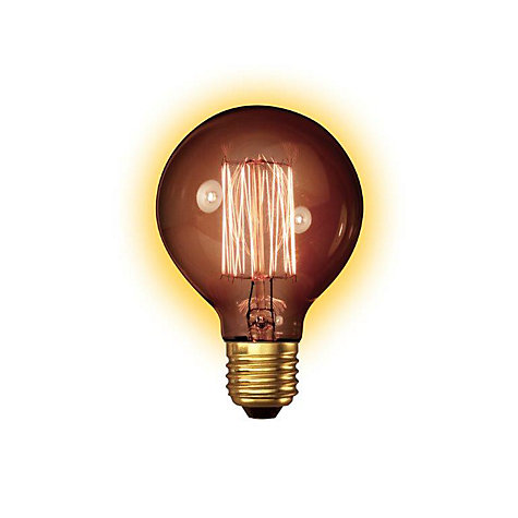 Buy Calex 35W ES Decorative Globe Bulb, Gold Online at johnlewis.com
