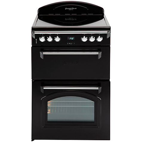 Buy Leisure GRB6CVK Electric Cooker with Ceramic Hob, Black Online at johnlewis.com