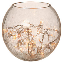 Buy Parlane Crackle Glass Table Lamp Online at johnlewis.com