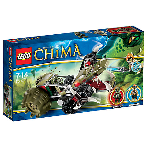 Buy LEGO Legends of Chima, Crawley's Claw Ripper Online at johnlewis.com