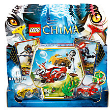 Buy LEGO Legends of Chima, Battles Game Starter Set Online at johnlewis.com