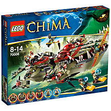 Buy LEGO Legends of Chima, Craggars Command Ship Online at johnlewis.com