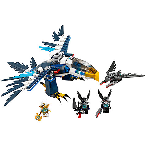 Buy LEGO Legends of Chima, Eris' Eagle Interceptor Online at johnlewis.com