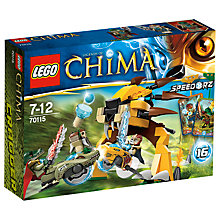 Buy LEGO Legends of Chima, Ultimate Speedor Tournament Online at johnlewis.com