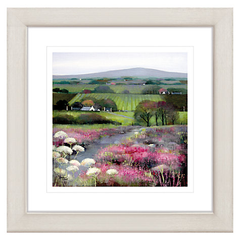 Buy Debbie Neill - Heather Hill Framed Print, 57 x 57cm Online at johnlewis.com