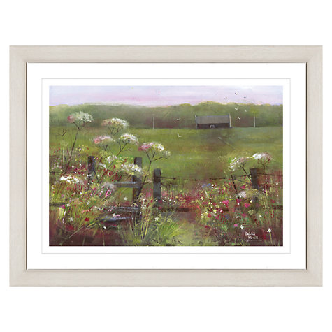 Buy Debbie Neill - Summer Dawn Framed Print, 87 x 67cm Online at johnlewis.com