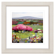Buy Debbie Neill - Time for Cherry Blossom Framed Print, 57 x 57cm Online at johnlewis.com