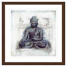 Buy Elvira Amrhein- Hingabe Buddha Framed Print, 88 x 88cm Online at johnlewis.com