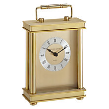Buy London Clock Gold Carriage Clock Online at johnlewis.com