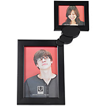 Buy Umbra Thinker Desk Photo Frame, Black Online at johnlewis.com