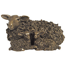 Buy Frith Sculpture Ewe and Twin Lambs, by Veronice Ballan Online at johnlewis.com