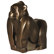 Buy Frith Sculpture Gorilla Bronze Online at johnlewis.com