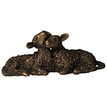 Buy Frith Sculpture Twin Lambs, by Veronica Ballan Online at johnlewis.com