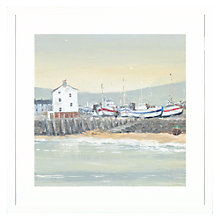 Buy Anthony Waller - White Wash Bay Framed Print, 45 x 45cm Online at johnlewis.com