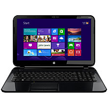 "Buy HP Pavilion 15-B116SA Laptop, AMD A6, 2.1GHz, 6GB RAM, 1TB, 15.6"", Black Online at johnlewis.com"