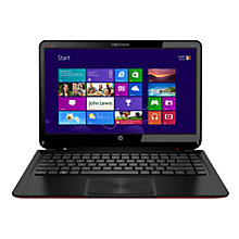 "Buy HP Envy 4-1201SA Ultrabook, Intel Core i5, 1.8GHz, 4GB RAM, 500GB+32GB SSD, 14"", Aluminium Online at johnlewis.com"