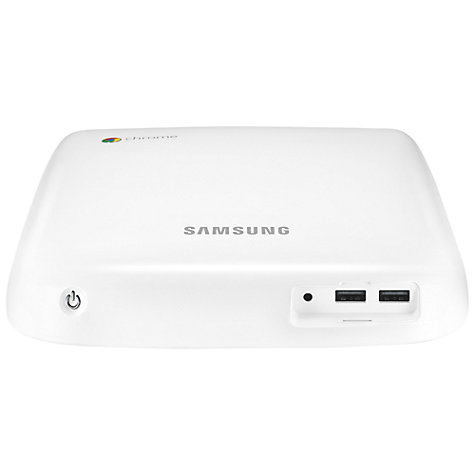 Buy Samsung Series 3 Chromebox, Intel Celeron, 4GB RAM, 16GB SSD, Wi-Fi, White Online at johnlewis.com